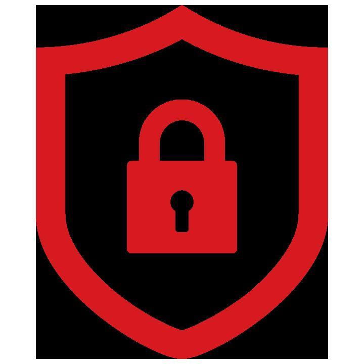 lock shield icon