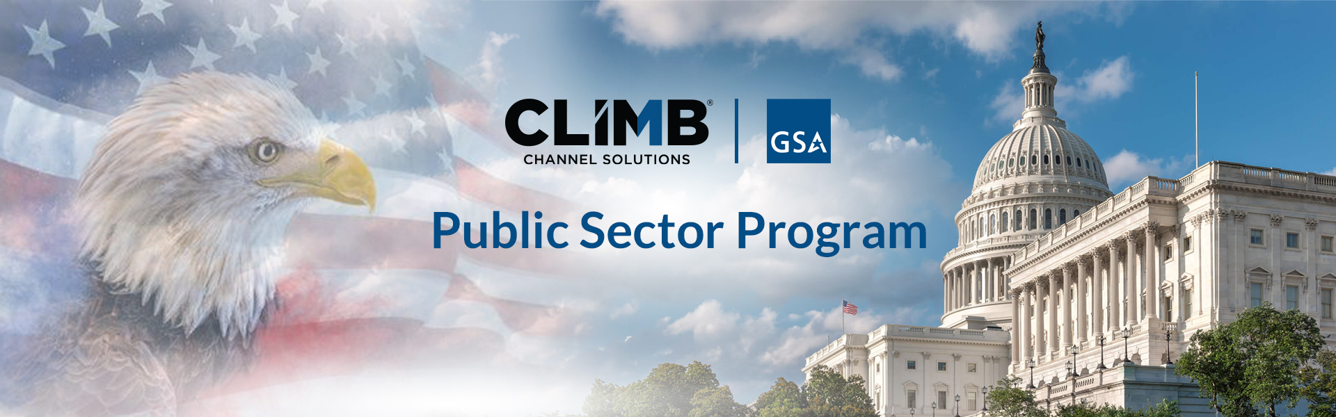 Climb Public Sector Banner
