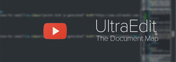 Introducing UltraEdit v22 and the Document Map